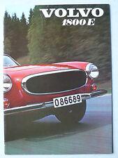 Prospekt Volvo 1800 E,  8.1970, 12 Seiten