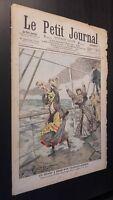 JOURNAL LE PETIT PARISIEN N°837  DIMANCHE 2 DECEMBRE 1906 ABE
