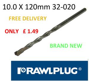 RAWLPLUG 10.0mm x 120mm MASON MASTER DRILL BIT FREE DELIVERY