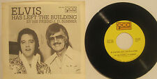 """ELVIS Has Left The Building"" J.D. Sumner 1977 QCA 45rpm w/ PS EX Cond"