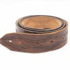 Vintage Brown Genuine Leather Belt 36 / 90