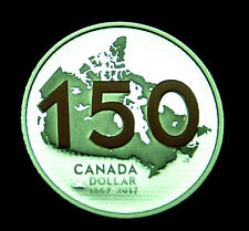 1867-2017 Can. $1 silver proof 99.99% silver - celebrating Can.150th anniversary
