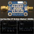 Low-Pass Filter LPF 7th Order Elliptical 1-1000Mhz 3.5 7 14 28 144 433MHz etc