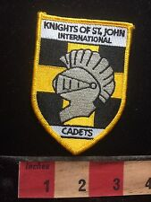 Knights Of Saint John International Cadets Patch S74Pd