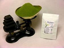 Organic Moringa Oleifera Raw Leaf Powder 50gms - CERTIFIED NON GMO - UK Seller