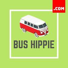 BusHippie.com -2 Word Domain - Name - Volkswagen VW Bus Name .COM Dynadot