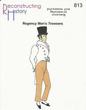 Schnittmuster RH 813: Regency Men's Trousers