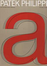 Patek PHILIPPE MAGAZINE volume II numero 1 Deutsch asta risultati Vintage Orologio