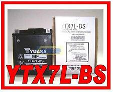 0650690 MOTORRAD-BATTERIE e ROLLER YUASA YTX7L BS YTX7L-BS ORIGINAL NEUE