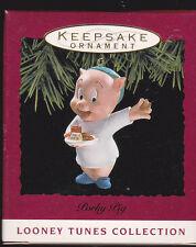 1993 Hallmark Looney Tunes Porky Pig Ornament Nib New