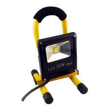 10W LED Baustrahler 720lm IP65 230V BAULICHT Arbeits-Leuchte Fluter Bau-Lampe