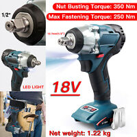 "Replace For Makita18V Li-ion  Brushless Cordless 1/2"" Impact Wrench Body Only"