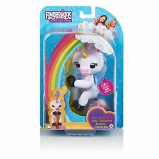 NEW! Authentic WowWee Fingerlings Baby Unicorn Gigi White Interactive Baby Pet