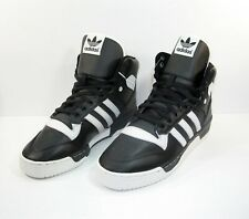 Adidas Originals Mens Rivalry High Black White Shoes Size 9.5 BD8021 Ewing New