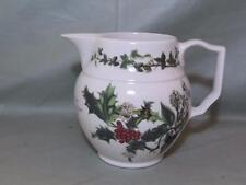 "Portmeirion ""The Holly & The Ivy"" Milk or Cream Jug 1-Pint Christmas Pudding"