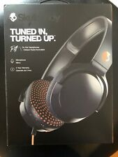 SKULLCANDY RIFF WIRED ON EAR HEADPHONES - GRAY/ORANGE S5PXY-L636 - Open Box