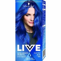 Live Ultra Bright Pastel Permanent Hair Color 95 Electric Blue Long Lasting Dye