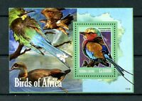 Sierra Leone 2013 MNH Birds of Africa 1v S/S Lilac-breasted Roller Stamps
