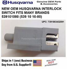 NEW OEM HUSQVARNA INTERLOCK SWITCH FITS MANY BRANDS 539101080 (539 10 10-80)