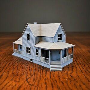 N-Scale - Farm House 1920s Sears Kit Home - 1:160 Scale Building House