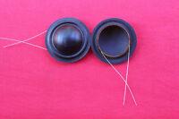 New 2 pcs ID: 19.43mm horn  voice coil 4 ohm silk Tweeters Diaphragm speaker