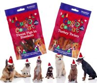 Christmas Xmas Festive Dog Treat Reward Pigs in Blankets or Turkey Twist Treats