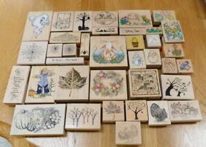 Stamps~YOU CHOOSE~Halloween/Autumn/Fall/Easter~Stampin Up/Stampendous/Hero Arts+