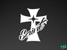 Saint Cross Car Sticker Vinyl Decal Show, Stance, Dub, Rat