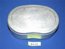 DDR Aluminium Brotdose Brotbüchse 19,5 x 12,5 x 6,2 Bemmbüchse Frühstücksdose