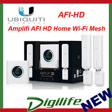 Ubiquiti AmpliFi Mesh Wi-Fi Dual Band AC Router 1750Mbps 2x Mesh Points AFI-HD