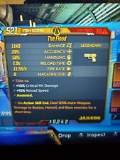 The Flood Borderlands 3 Rare Legendary 125% Boss Damage Anointed Xbox 1