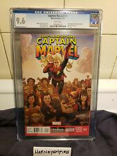 Captain Marvel #17 2014 Marvel Comics Kamala Khan  CGC 9.6