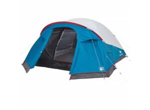 Quechua Arpenaz Camping Tent Fresh&Black XL 3 People 1 Sleeping Area Blackout
