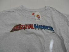 Medieval Madness Pinball Machine  T-Shirt Fully Licensed  2X Large Mr Pinball
