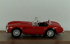 Model Box AC Shelby Cobra in red 8410 Made in Italy.  Excellent / Boxed