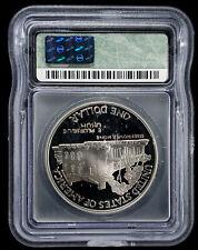 1990-P Silver $1 Eisenhower Commemorative Coin ICG - PR70 DCAM