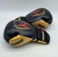 Kimurawear Boxing Gloves - Black/Gold 10 OZ