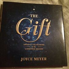 JOYCE MEYER  THE GIFT UNWRAP THE MEANING OF THE CHRISTMAS SEASON HARDCOVER BOOK
