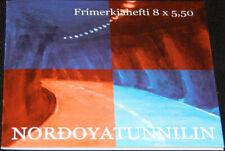 Faroe Islands 2006 Nordoya Tunnel, Fish & Boat Motifs, Complete Booklet Unm /Mnh