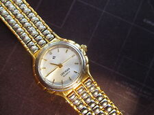 LADIES ATTRACTIVE LOUIS PICARD QUARTZ WATCH,  NEW BATTERY
