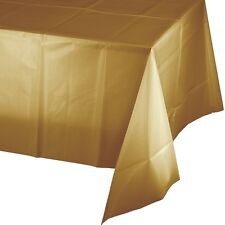 "54""x108"" Heavy Duty Plastic Table Covers Disposable Party Tablecloths Rectangle"