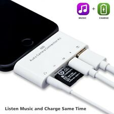 Lightning to 3.5mm Audio,SD Card Slot,TF Card Slot,Lightning Charging Port,USB A