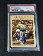 1996 MIKE HOLMGREN Signed Upper Deck Football Trading Card-Green Bay Packers-PSA