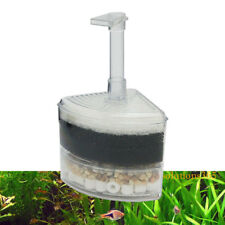 Bio Corner Filter Air Driven Sponge Fry Shrimp Nano Fish Tank Aquarium 20 Gal