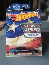 2020 Hot Wheels Stars and Stripes '71 Plymouth Hemi Cuda US Walmart Exclusive