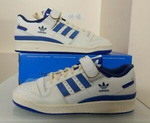 Adidas Originals Forum 84 Low Shoes Sneakers - RETRO - White & Blue