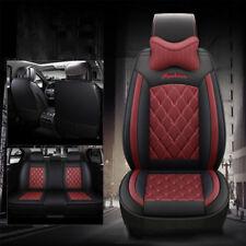 Wine Red Burgundy Car Seat Cover for Nissan X-Trail Pulsar Navara Qashqai Murano