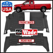 Westin Wade Sure-Fit Floor Mats 2008-2010 Ford F-350 SuperCab BLACK