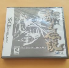 The Legend of Kage 2 (Nintendo DS, 2008) Brand New!