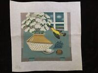Melissa Shirley Designs Hand-painted Needlepoint Canvas Small Beach Table